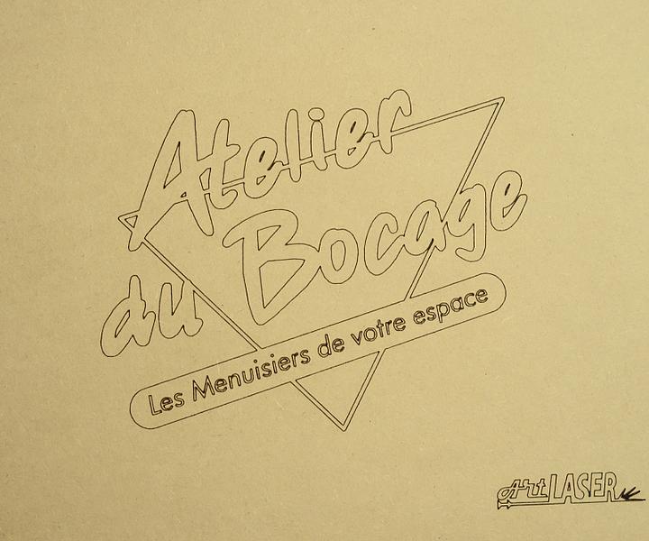 Marquage Medium Logo Atelier Du Bocage